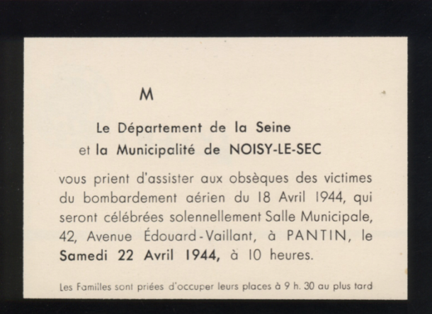 source, archives municipales