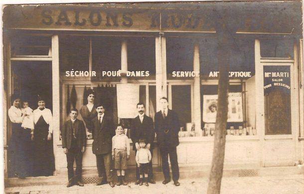 Salon boulevard de la République, existant au moins depuis 1926 (en dernier Tony coiffure)