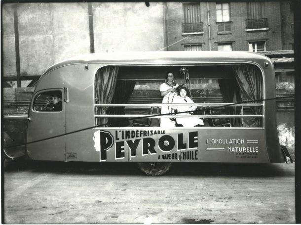 Camion de l'indéfrisable Peole