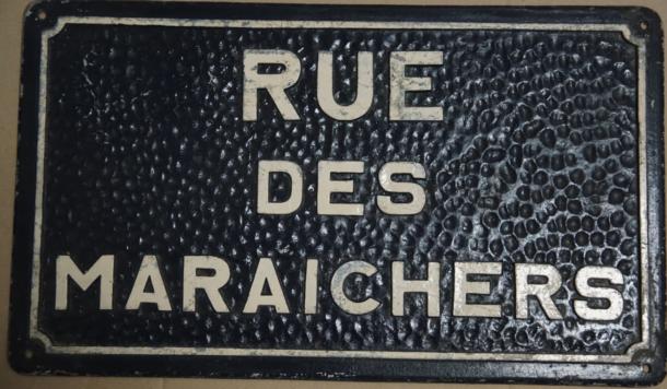rue des Maraichers