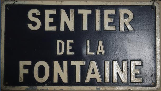 sentier de la Fontaine
