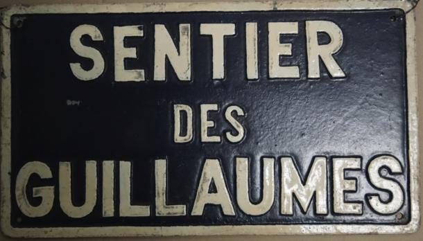 sentier des Guillaumes