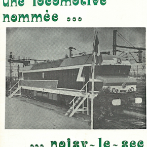"""Fin de carrière pour la locomotive baptisée """"Noisy-le-Sec"""""""