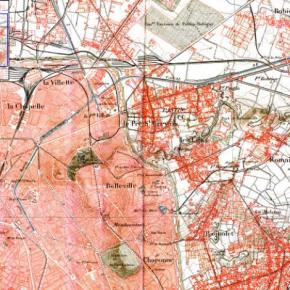 Time line cartographique