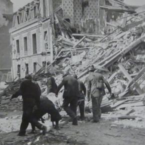 Nouveau cimetière, Carré du Souvenir 2ème partie, les victimes du bombardement