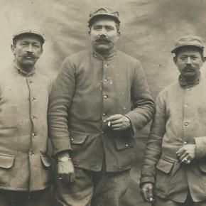28 février 1916, les trois amis