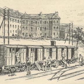 juillet 1891, grève des ouvriers des chemins de fer