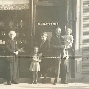 Marcel Charpentier  pâtissier-confiseur, rue Jean Jaurès