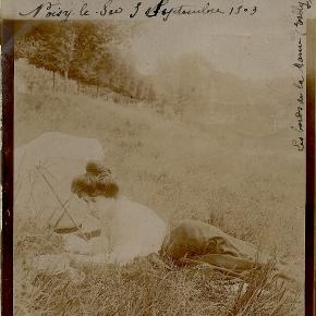 Correspondances en 1900