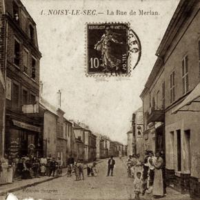 La rue de Merlan, son histoire et ses commerces