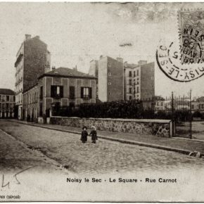 Le square de la rue Carnot